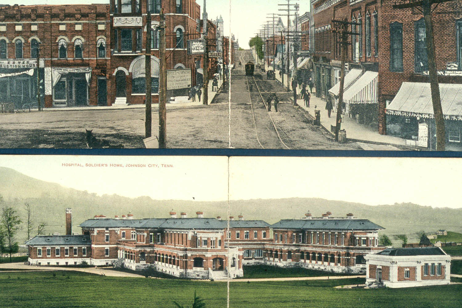 Postcards Mountain Home Johnson City Tennessee