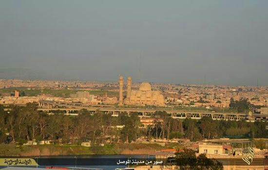 Kondisi Kota Mosul Dibawah Kendali IS 1