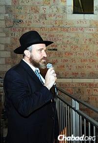 Rabbi Yossi Swerdlov (Photos: Mendy Hechtman)