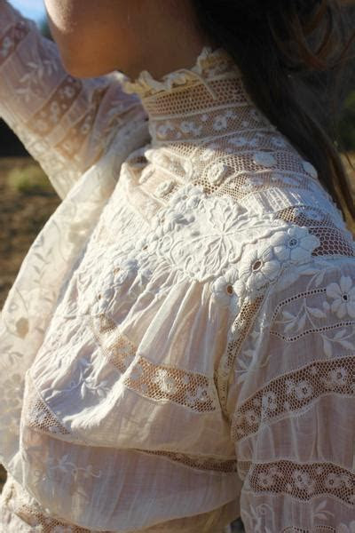 """The Real Deal"" Exquisite Victorian Lace Gown Dress"