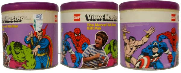 marvel superheroes viewmasters