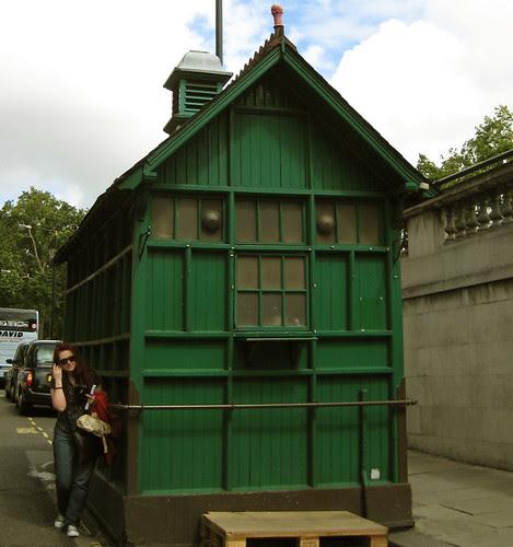 Clue 6 - Cabin near sacred station