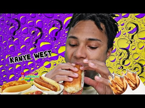 Five Guys Mukbang | Kanye West?
