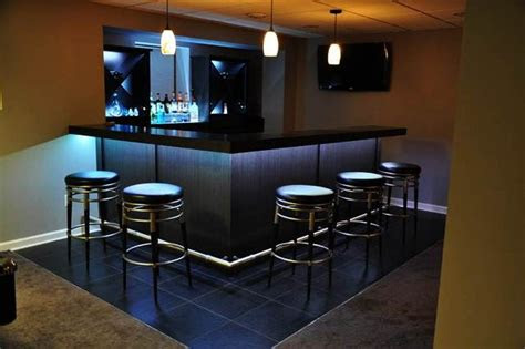 basement bar ideas  small spaces horner hg