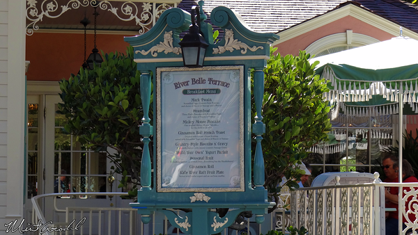 Disneyland Resort, Disneyland, River Belle Terrace, New Menu