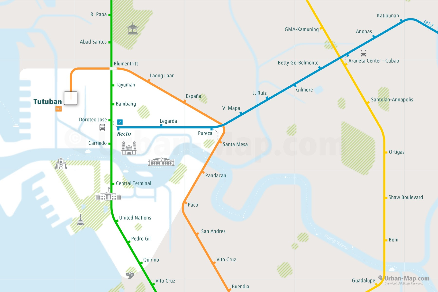 Rail Map A Smart City Guide Map Even Offline