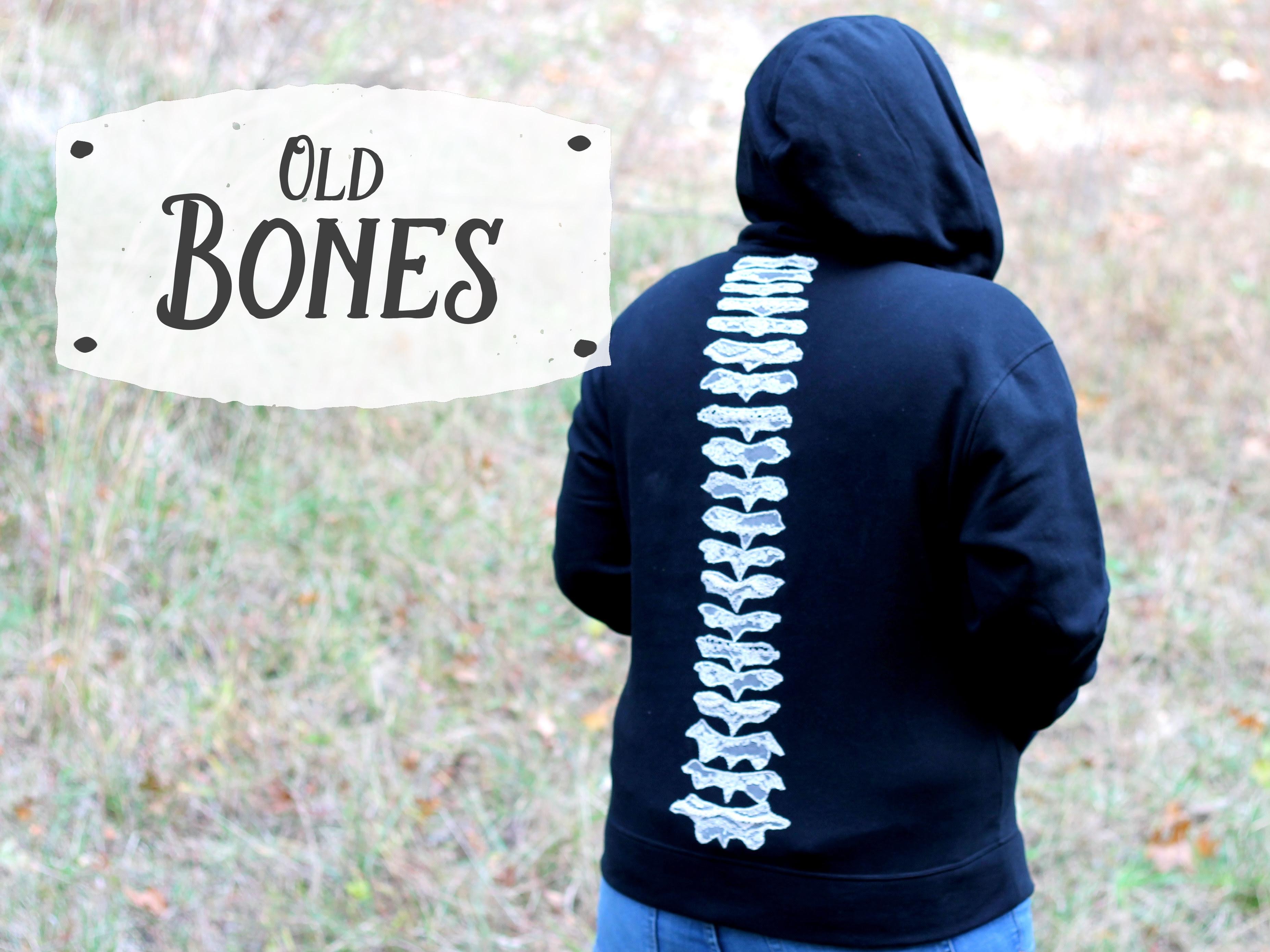 Old Bones Anatomy Hoodie: Sew Geeky Spectacular!
