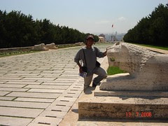 On The Way ke Attaturk Mausoleum, Ankara, Turkey