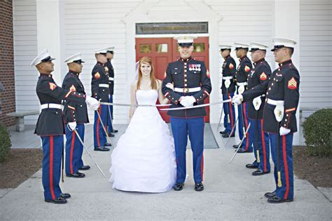 Marine Sword Ceremony. Usmc wedding   USMC WEDDING