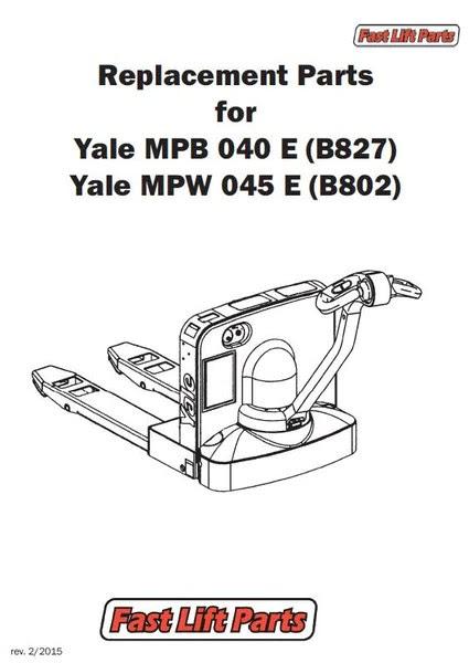 Yale Lift Truck Wiring Diagram