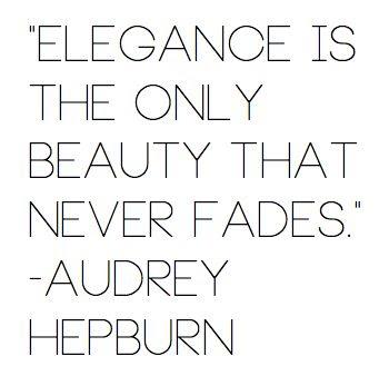 elegance & beauty.