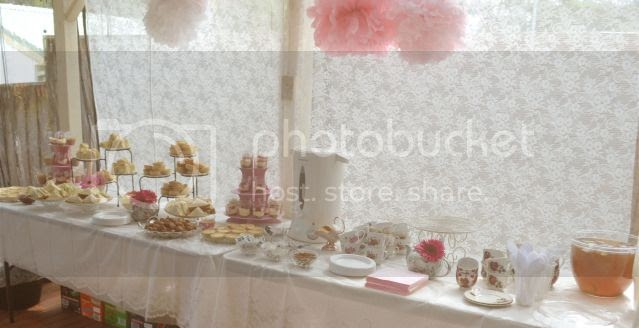 kitchen utopia a first birthday tea party the decorations 22 best images about kitchen tea party on pinterest
