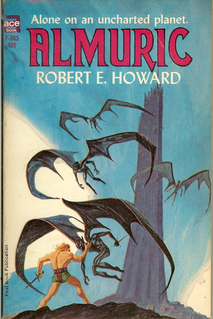 Jack Gaughan Cover Art - Robert E Howard - Almuric, 1964