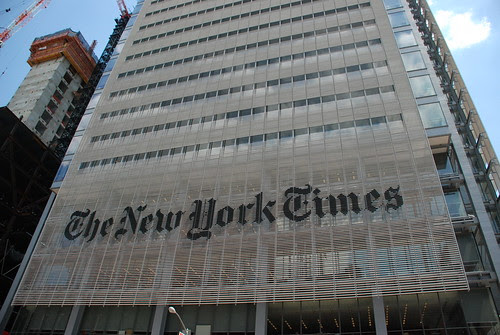 The New York Times by Joe Shlabotnik.