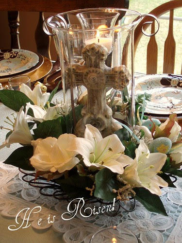 Dining Delight Easter Decor Inspiration