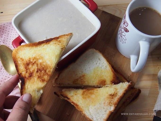Roti Bakar Kuah Durian