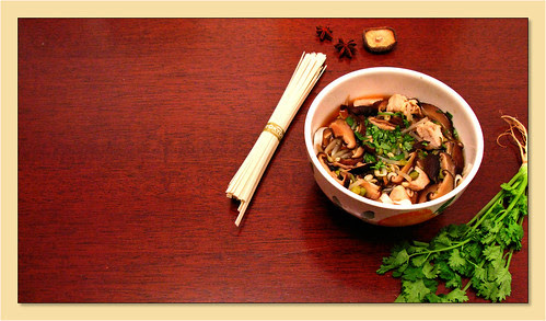 Food sources of isoflavones include tofu and miso soup.