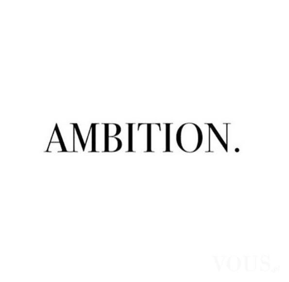 Ambition Cytaty Motywacja Do ćwiczeń Vouspl