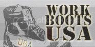 Work Boots USA Graphic