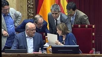 Imatge d'arxiu dels lletrats del Parlament en plena feina