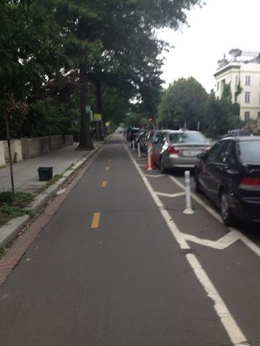 two way bike lane