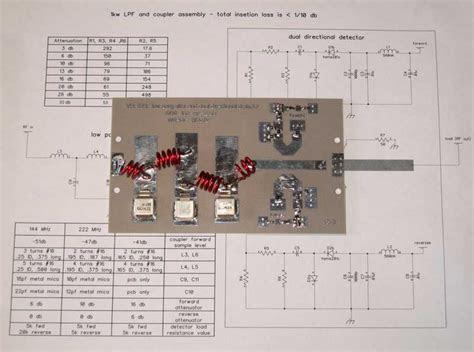 pass filter dual directional detector