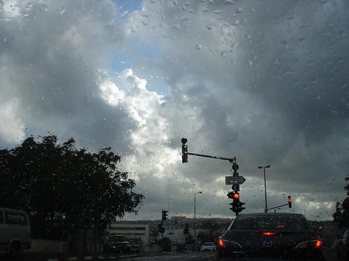 Rain en route