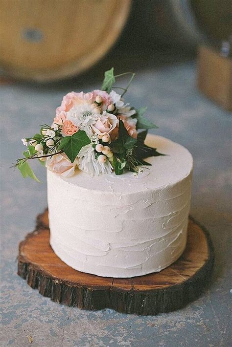 30 Small Rustic Wedding Cakes On A Budget   Wedding