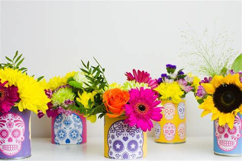 FREE PRINTABLE DAY OF THE DEAD CAN TIN LABELS FOR