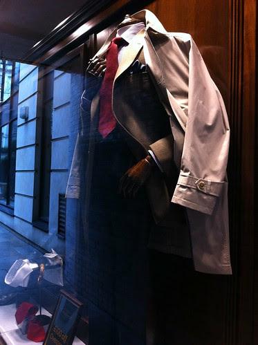 Ede & Ravenscroft window display