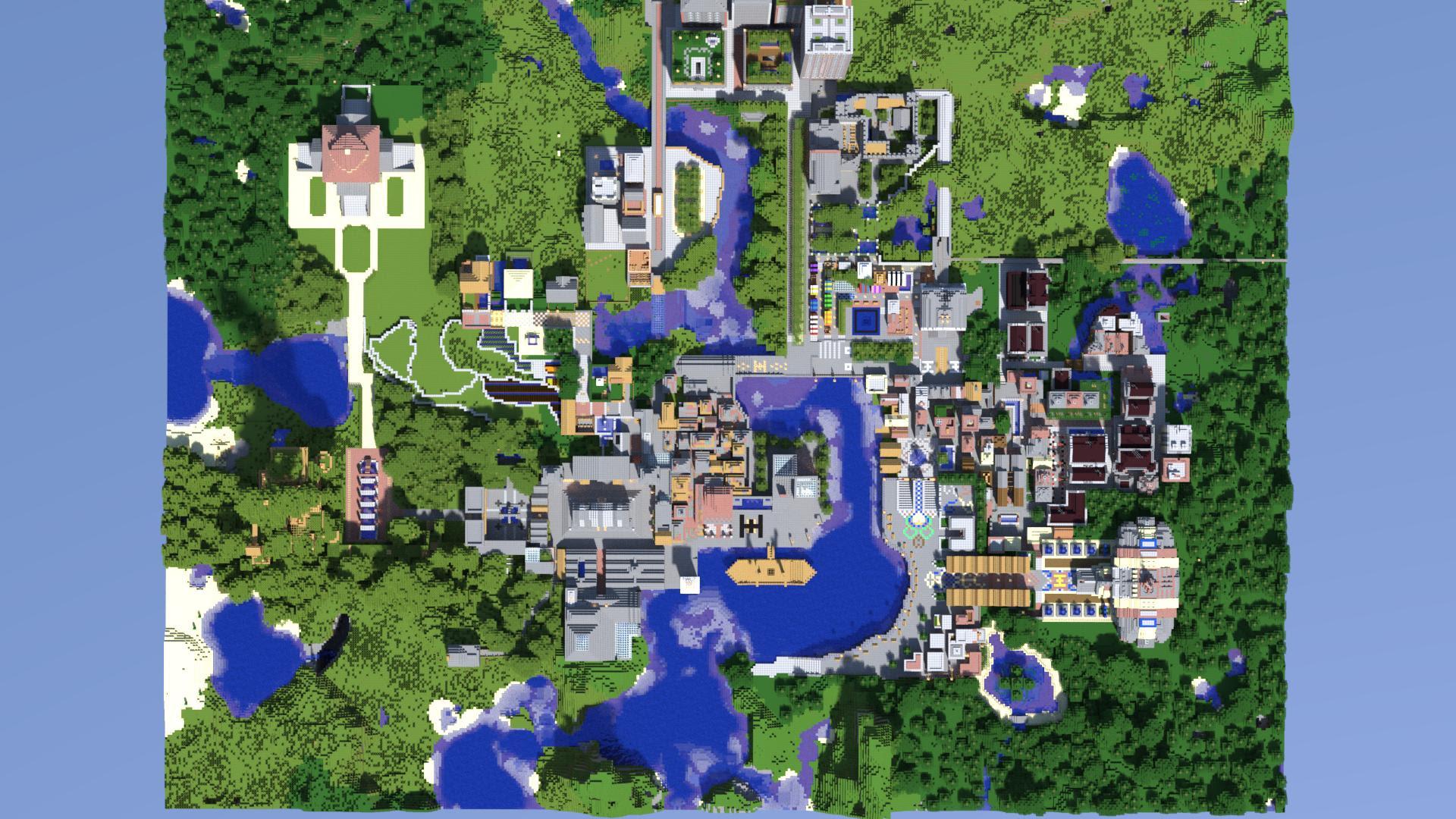 Minecraft Zoo Map Download 11.11 - Gambleh p