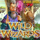 Magical New Wild Wizards Slot at Grande Vegas Casino has Five Spellbinding Bonus Games