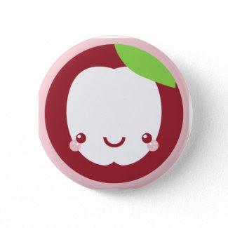 Happy Apple Button button