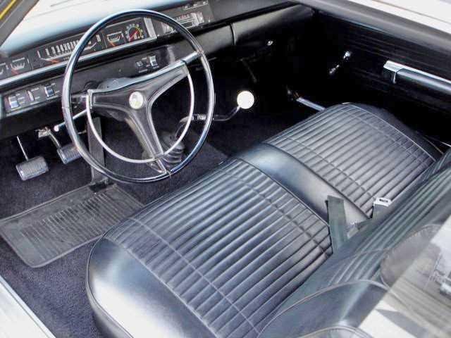 1969 Plymouth Roadrunner Dash
