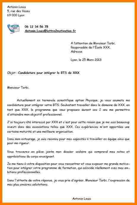 lettre de motivation unicef exemple