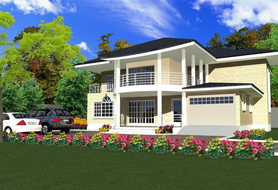 House Plans and Design Architectural Designs Houses Ghana