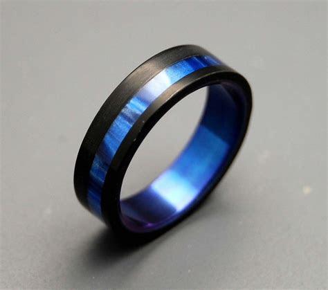 men's blue wedding bands   Bing Images   Thin Blue Line