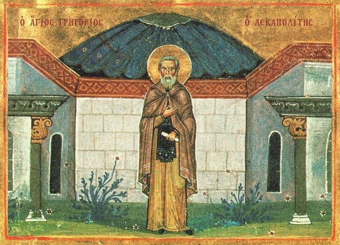 Αποτέλεσμα εικόνας για αγιοσ προκοπιοσ ο δεκαπολιτησ