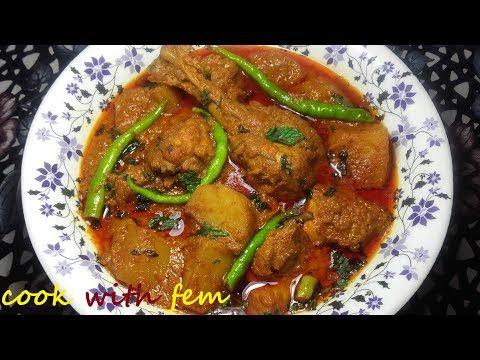 Chicken Aloo Korma || Restaurant Style Chicken Potato Curry || Aloo Murg Ka Khurma