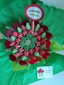 Arreglo de cumpleaños con dulces