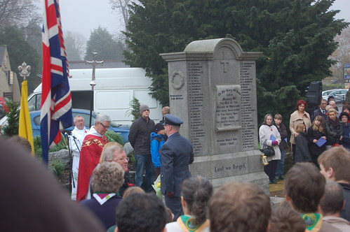 Remembrance Day Whickham Nov 11 27