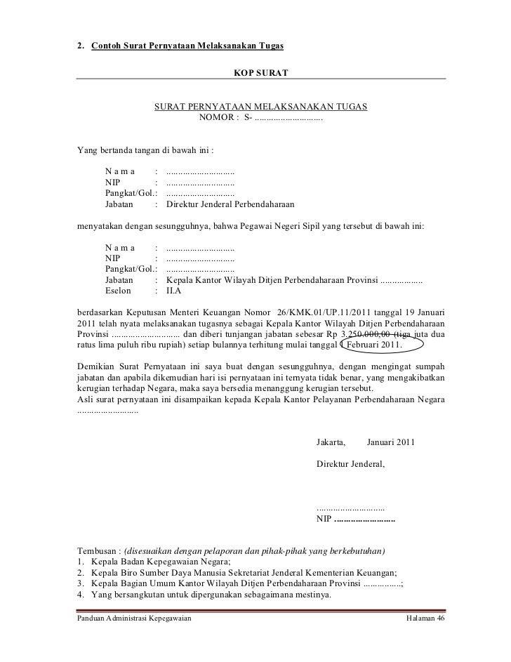14+ Contoh surat penunjukan admin ht elektronik terbaru yang baik dan benar