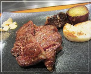 帝国ホテル「嘉門」にて、いよいよお肉の登場!