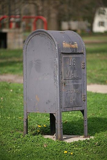 U.S. Mail Storage Box