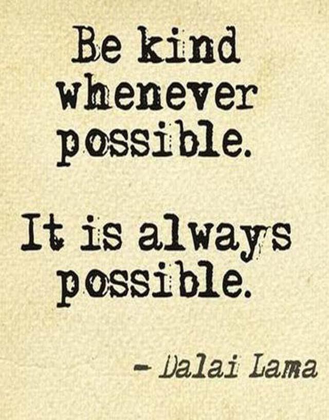 The Dalai Lama: On Kindness