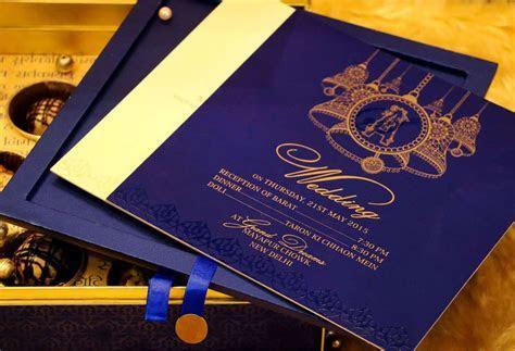 Blue Bell   Voguish Wedding Invitations