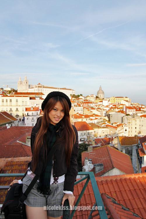 lisbon city and i again