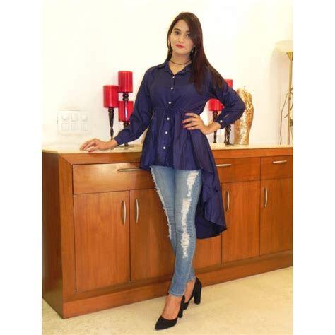 Up down stylish kurti