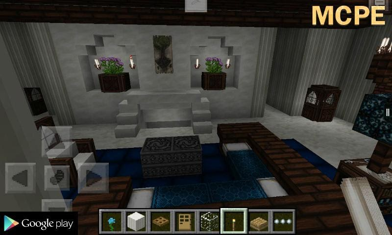 Furniture Minecraft Room Ideas In Game Crafts Diy And Ideas Blog