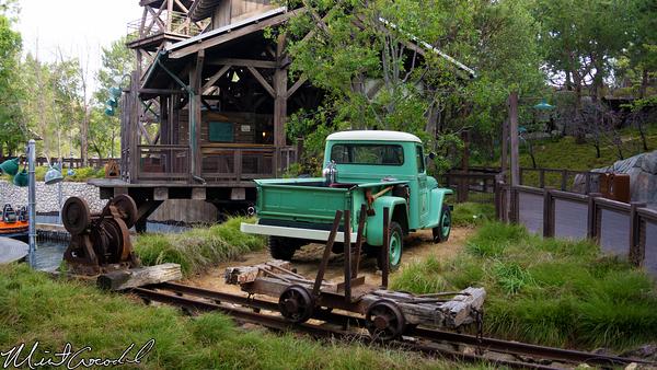 Disneyland Resort, Disney California Adventure, Grizzly River Run, Truck
